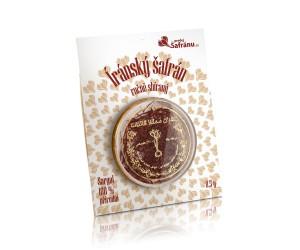 Íránský šafrán Sargol, 0,5 g, sklizeň 2018
